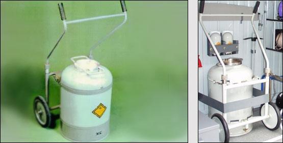 Специальный  взрывозащитный контейнер «ЭТЦ-2»